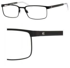 Tommy Hilfiger Eyeglasses T_hilfiger 1235 0FSW Matte Black Crystal
