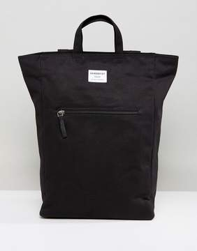 SANDQVIST Tony Backpack & Tote in Black