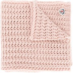 Moncler chunky knit scarf