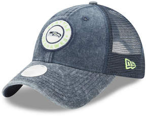 New Era Women's Seattle Seahawks Perfect Patch 9TWENTY Snapback Cap