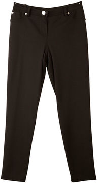 JCPenney BY AND BY GIRL by&by Girl Skinny Black Ponte Pants - Girls 7-16