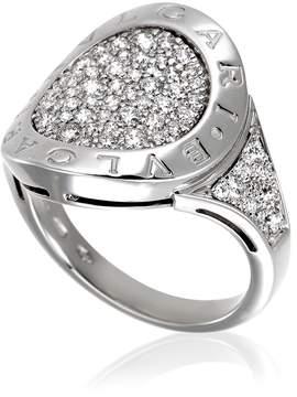 Bvlgari White Gold Ring- Size 56