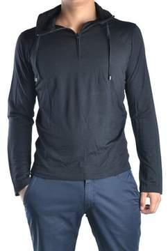 CNC Costume National Men's Black Wool Sweatshirt.