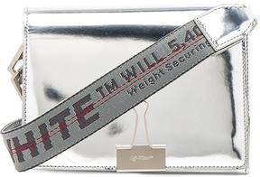 OFF-WHITE Mini Mirror New Flap Bag