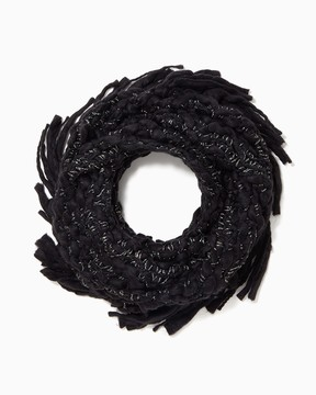 Charming charlie Chunky Fringe Infinity Scarf