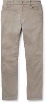 Hackett Trinity Slim-Fit Stretch-Cotton Twill Trousers