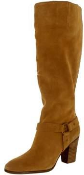 Lauren Ralph Lauren Lauren Ralph Women's Fareeda-Bo-Csl Suede Camel Knee-High Boot - 7M