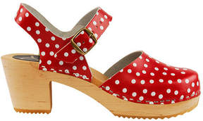 Cape Clogs Women's Pippi Red Closed Toe