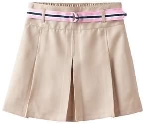 Chaps Girls 7-16 Belted Skort