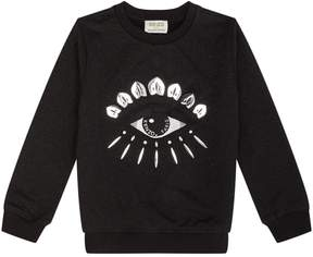 Kenzo Lurex Eye Motif Sweater