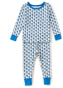 Starting Out Baby Boys 12-24 Months Monkey-Print Top & Pants Pajama Set
