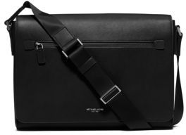 Michael Kors Grain Leather Messenger Bag