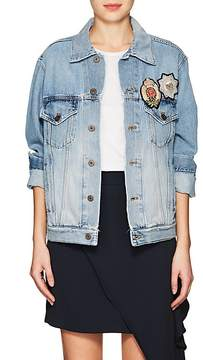 Faith Connexion Women's Appliquéd Denim Jacket