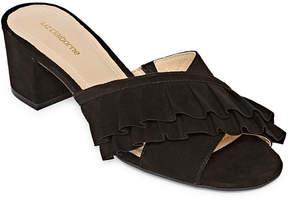 Liz Claiborne Erika Womens Slide Sandals
