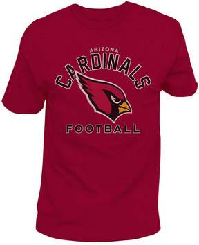 Authentic Nfl Apparel Men's Arizona Cardinals Midfield Retro T-Shirt