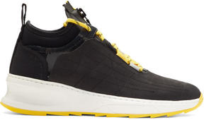 Filling Pieces Black Inner Circle Deconstructed Shark Sneakers