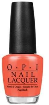 OPI Nail Lacquer Nail Polish, Hot Spicy.
