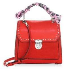 Rebecca Minkoff St Tropez Small Leather Satchel - CARNATION - STYLE
