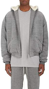 Fear Of God Men's Sherpa-Lined Cotton Terry Hoodie