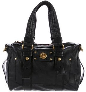 Marc by Marc Jacobs Smooth Leather Satchel - BLACK - STYLE