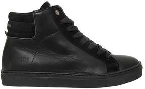 Zadig & Voltaire Leather & Suede High Top Sneakers