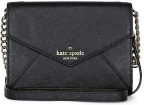 Kate Spade Open Box Cedar St Monday Black Leather Crossbody Bag