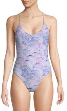 Dolce Vita One-Piece Printed Swimsuit