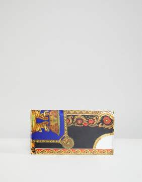 Asos DESIGN scarf print purse