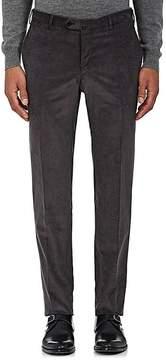Isaia Men's Cotton Corduroy Flat-Front Trousers