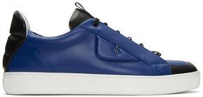 Fendi Blue Bag Bug Sneakers