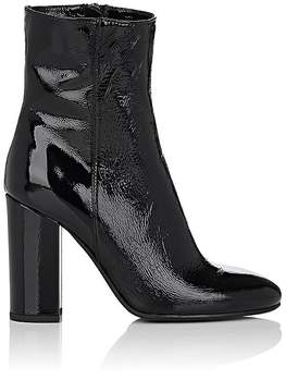 Barneys New York Women's Patent Leather Ankle Boots
