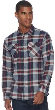 Burnside Men's Flannel Button-Down Shirt