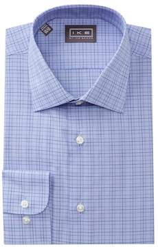 Ike Behar Multi Check Regular Fit Dress Shirt