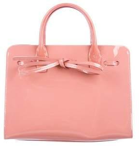 Mansur Gavriel Patent Mini Sun Bag