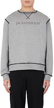 J.W.Anderson Men's Logo Cotton French Terry Sweatshirt