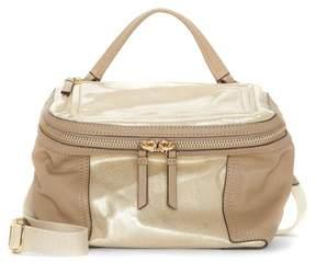 Vince Camuto Medium Patch Nylon & Leather Crossbody Bag