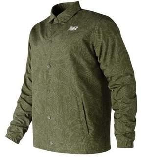 New Balance Men's MJ81534 Classic Printed Coaches Jacket