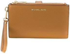 MICHAEL Michael Kors Jet Set wristlet wallet - BROWN - STYLE