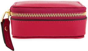 Neiman Marcus Small Saffiano Leather Pill Case