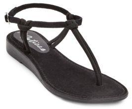 Matisse Effie Simple Suede T-Strap Sandals
