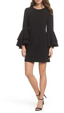 Chelsea28 Tiered Bell Sleeve Shift Dress