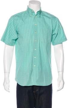 Burberry Printed Button-Up Shirt
