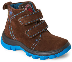 Naturino Toddler Boys) Brown Bakutis Waterproof Suede Boots