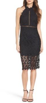 Bardot Women's Gemma Halter Lace Sheath Dress