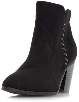 Head Over Heels *Head Over Heels By Dune Black Pandoro Ladies Ankle Boots