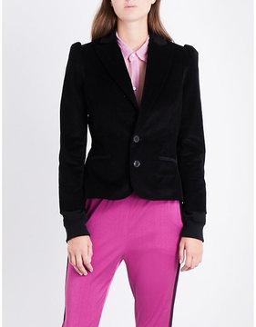 A.F.Vandevorst Single-breasted stretch-cotton corduroy blazer