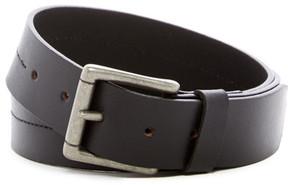 Boconi Cut Edge Non Stitch Leather Belt