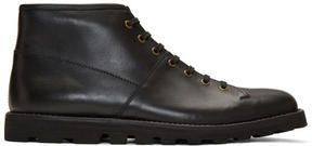 Prada Black Hiking Boots