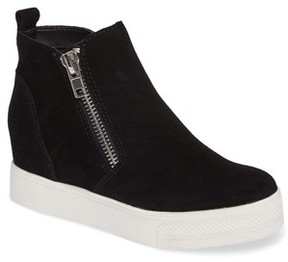 Steve Madden Women's Wedgie High Top Platform Sneaker