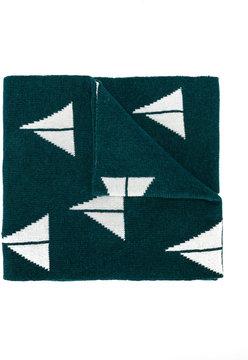 Bobo Choses sail boat knitted scarf